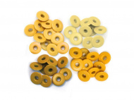 Люверсы We R Memory Keepers, Wide Eyelets - Aluminum Yellow, 4,7 мм, 40 шт