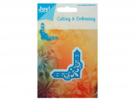 Лезвие Joy! Crafts Dies - Cutting & Embossing - French Lily Small Corner