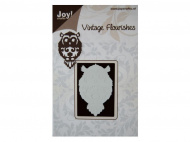 Лезвие Joy! Crafts Dies, Vintage Flourishes - Owl