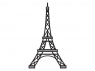 Лезвие Marianne Design Creatable — Eiffel Tower, 1 шт