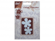 Лезвие Joy! Crafts Dies - Vintage Flourishes — Flowers